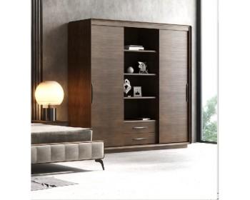 Шкаф для одежды 2Д-П Модена
