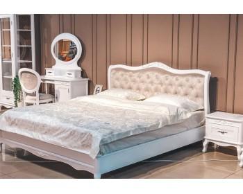 Кровать двуспальная (низкое изножье) Палермо