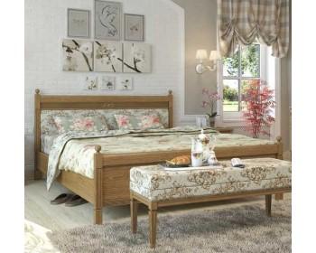 Кровать двуспальная Текстиль Марсель