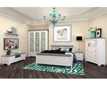 Кровать двуспальная  Бейли