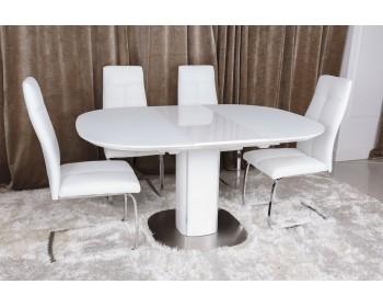 Стол обеденный BOSTON белый