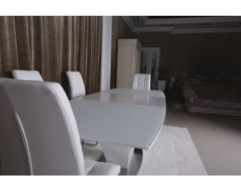 Стол обеденный DETROIT белый