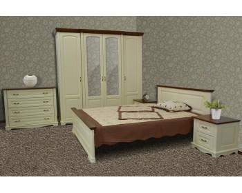 Кровать двуспальная Лебо