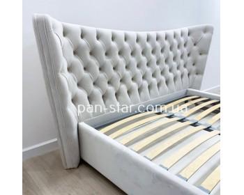 Мягкая двуспальная кровать  Аликанте