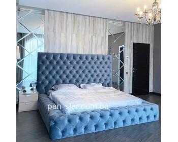 Мягкая двуспальная кровать Флоренция Макси
