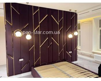 Мягкая стеновая панель Кровать Амаранти