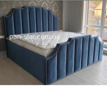 Мягкая двуспальная кровать  Бремен 2