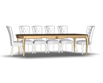Стол обеденный раскладной 10М