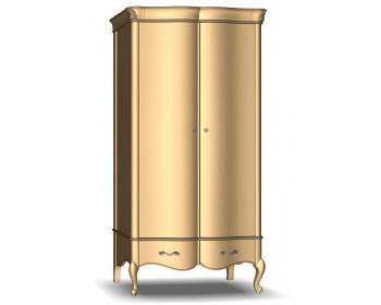 Шкаф для одежды 2Д2Ш Женева