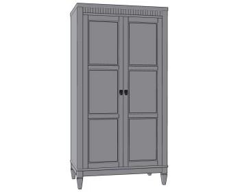Шкаф для одежды Бавария 2Д