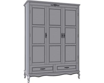 Шкаф для одежды 3Д2Ш Палермо