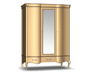Шкаф для одежды 3Д3Ш Женева