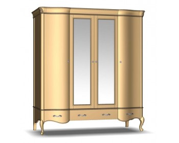 Шкаф для одежды 4Д3Ш Женева