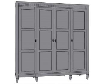 Шкаф для одежды Бавария 4Д