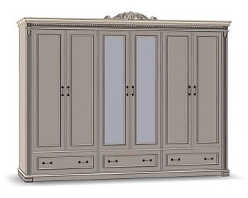 Шкаф для одежды Галиция 6Д3Ш