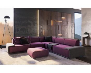 Угловой диван Baxter