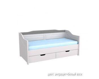 Кровать-Диван Бейли с ящиками и ламелями