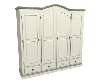 Шкаф Ивалла 4-х дверный