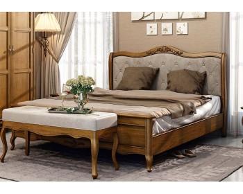 Кровать двуспальная (высокое изножье) Палермо