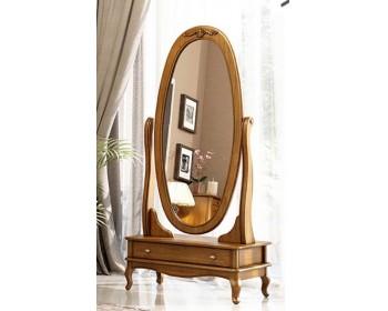 Зеркало Палермо овальное вращающееся 1Ш