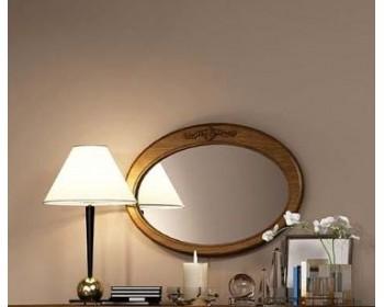 Зеркало овальное горизонтальное Палермо