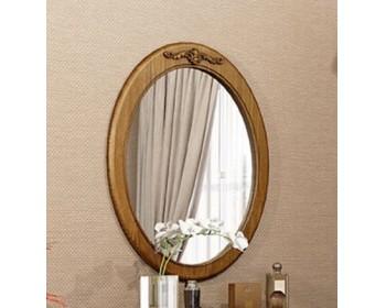 Зеркало овальное вертикальное Палермо
